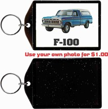 1976 Ford F-100 Pickup Truck KEYCHAIN-FREE Usa Ship - $11.87