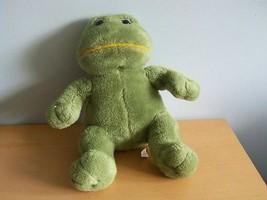 "Cute Green Plush Froggy Frog Stuffed Animal Mike Dog Brand 13"" - $19.80"