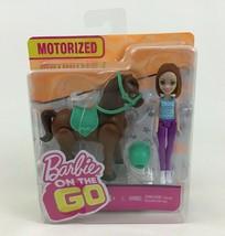 Barbie on The Go Motorized Walking Horse Brunette Toy Doll Pony Sealed M... - $12.82