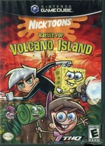 Nicktoons: Battle for Volcano Island (Nintendo GameCube, 2006) No Manual - $9.89