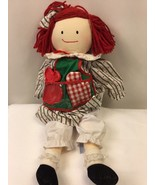 "Eden Sweets N Treats Madeline Plush Rag Doll w/ Geneve Cookie Cutter 18"" - $28.21"