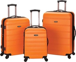 Rockland Melbourne 3 Piece Luggage Set $480 - NEW - FREE SHIPPING - in O... - $184.09