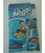 H2O GO! Baby Pool Float Seat Inflatable blue New Baby Float Ages 1-2 Car Float - $6.04