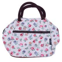 Women Handbag Fashion Zipper Lunch Box Bag Picnic Tote Small Floral Pattern - $7.24