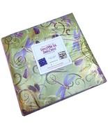 Benartex DANCE OF THE DRAGONFLY 10-inch Precut Squares Cotton Fabric Qui... - $63.66