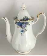 Royal Albert Moonlight Rose Coffee pot & lid - $250.00