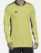 Adidas Men's AdiPro 20 Long Sleeve Goalkeeper Jersey Sz XL FI4195 Yellow... - $34.20