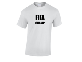 FIFA Champ XBOX PS4 Inspired Gamer Cool T-Shirt  - $12.44