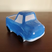 "Blue Truck Planter, Vehicle Plant Pot, Van Life, Boys Room, 5"" ceramic pickup"