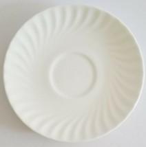 Royal Doulton White Cascade Saucer Orphan for Tea Cup English Bone China H5073 - $9.64