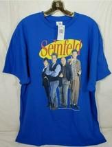 Cosmo Kramer XL Blue Short Sleeve T-Shirt 100% Cotton New - $18.80