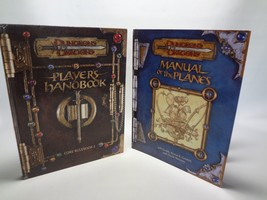 Dungeons & Dragons 2001 Manual of the Planes HARDCOVER Players Handbook rulebook - $34.64