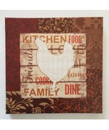 "ROOSTER WALL ART Canvas Wood 9"" Chicken Kitchen Decor Plaque French Country - $14.99"