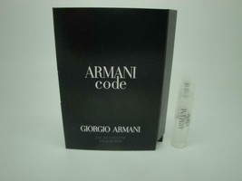 Lot of 4 Armani Code Pour Homme EDT Sample Spray Vials - $11.23