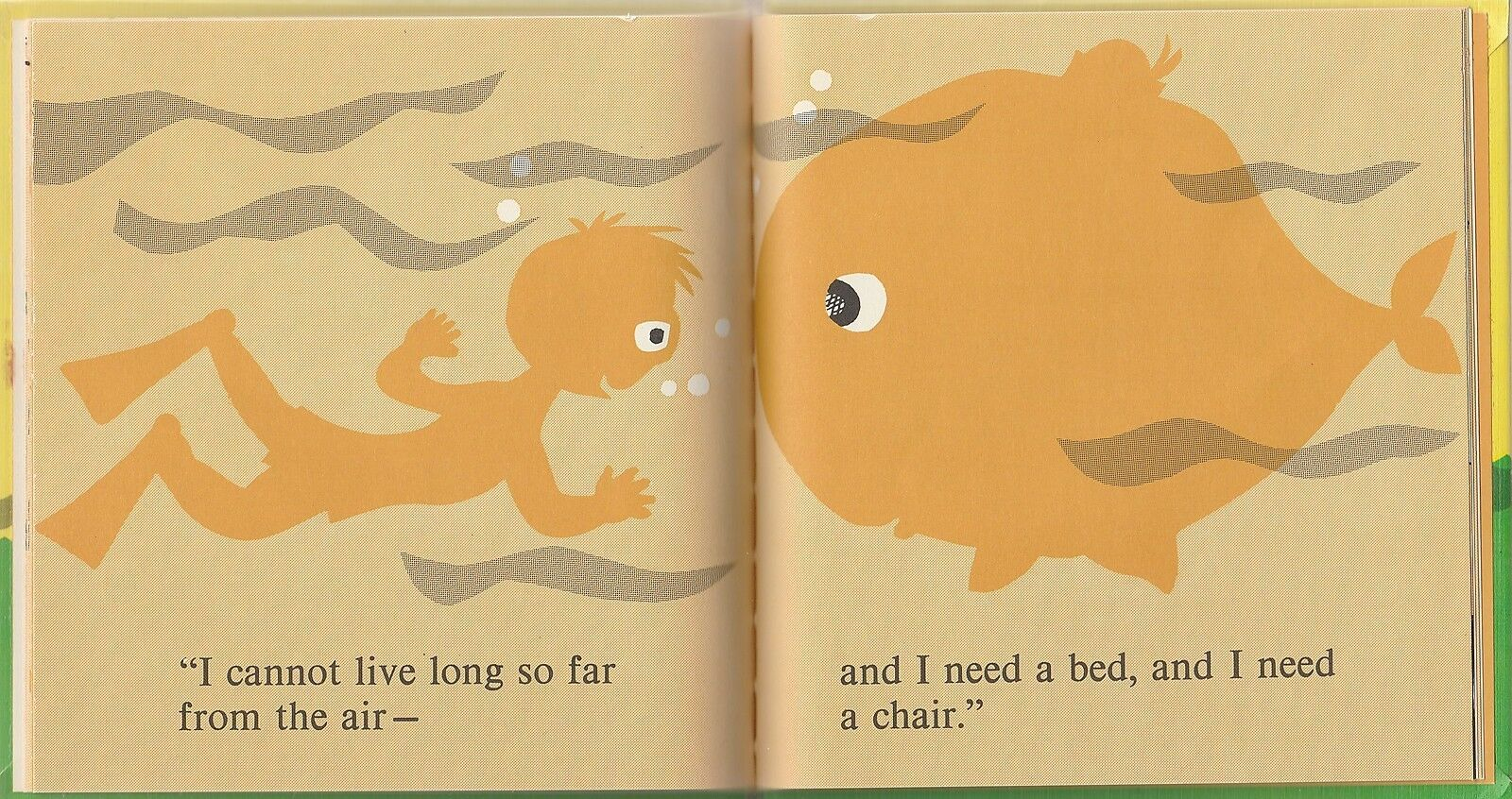 Willie and the Whale 1965 Anne DeCaprio An Early Start Preschool Reader