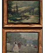Framed Wall Art (6.5 X 8.5) set of 6 Pictures - $20.00
