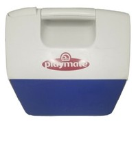 Vintage Igloo Playmate Retro 90's Cooler Blue, White - $64.34