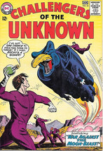 Challengers of the Unknown Comic Book #35, DC Comics 1964 VERY FINE - $41.52