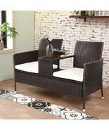 Modern Conversation Set Removable Cushions Home Garden Lawn Patio Stylis... - $201.29
