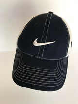 Nike golf hat 20XI Flex Fit black and white stretches for adjustable fit  - $11.29