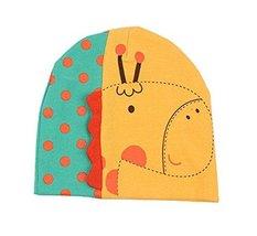 Hot Baby Warm Hat Cap Cute Giraffe 3D Baby Cotton Hats Yellow, 3-24 Months