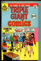 TRIPLE GIANT COMICS #1-1975-MLJ/ARCHIE-BETTY VERONICA-REGGIE-JUGHEAD-vg - $63.05