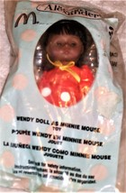 Madame Alexander -Wendie Doll as Minnie Mouse -McDonalds Happy Meal Doll - $10.00