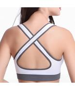 Stretch Anti-Bacterial Running Fitness Yoga Bra Sportswear - $14.99