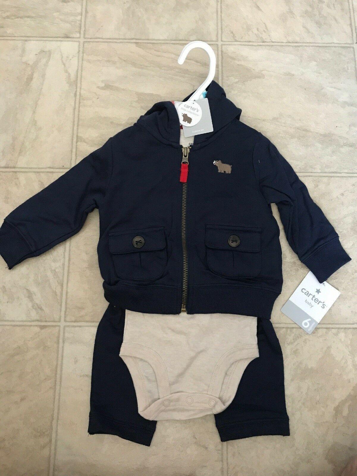 109720d66 NWT Carters Baby Boys 3 Piece Long Sleeve and 12 similar items. S l1600