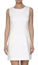 NWT Womens Diane von Furstenberg DVF Sleeveless White Knit Sheath Dress Sz 10 - $98.99