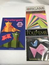 Monstergami von David Mitchell und Zwei Packungen Of Origami Paper - $9.91