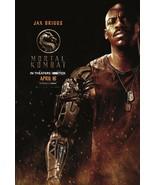 Mortal Kombat Poster 2021 Simon McQuoid Jax Briggs Film Art Print Size 2... - $10.90+