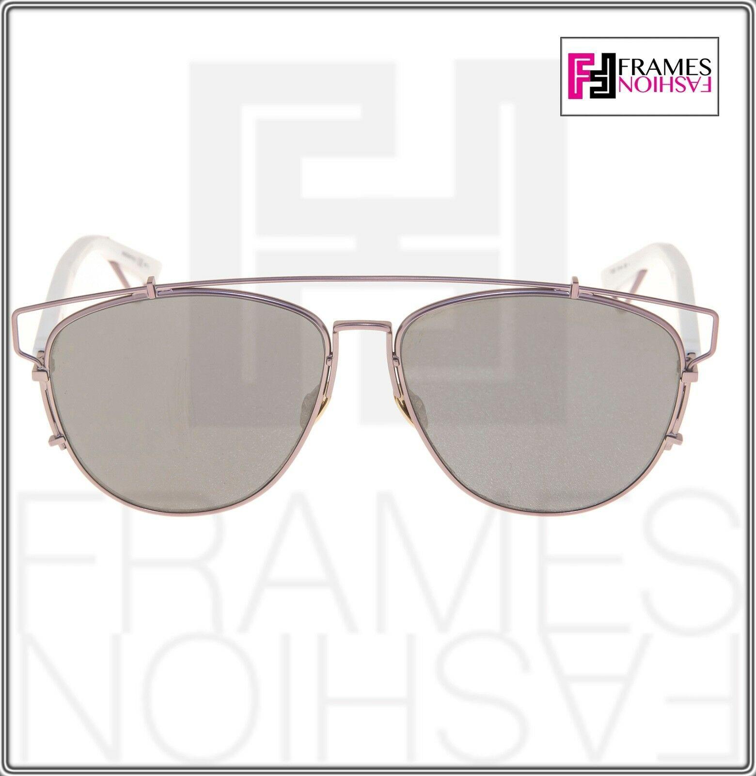 CHRISTIAN DIOR TECHNOLOGIC White Lilac Flash Mirrored Sunglasses DIORTECHNOLOGIC image 6