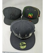 59 Fifty New York Yankees Ball Caps Hats DAMAGED Lot of 3 - $9.95