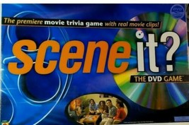 NEW Scene It? The DVD Game Mattel Board Movie Trivia Game Family Friends... - $14.80
