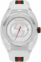 GUCCI SYNC YA137102 White Rubber Band  46 mm Watch - $257.40