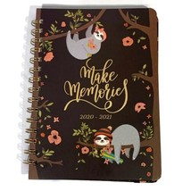 Sloth Academic Weekly & Monthly Planner with Tabs July 2020 - June 2021  - $17.81