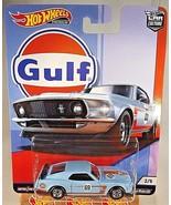 2019 Hot Wheels Car Culture Gulf Racing 2/5 '69 FORD MUSTANG BOSS 302 w/... - $14.85