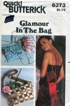 Butterick Pattern 6373 ~ Glamour in the Bag - $8.90