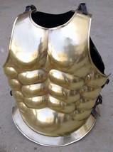NauticalMart Gold Greek Steel Breastplate Chest Plate Medieval Costume - $139.60