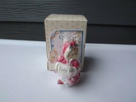 NEW 1993 Hamilton Gifts Cherished Teddies #912832 Girl with Muff - $13.99