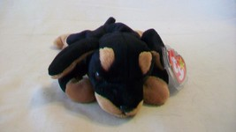 Doby the Dog Ty Beanie Baby DOB October 9, 1996 - $7.42