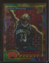 1993-94 Alonzo Mourning Topps Finest #104 Basketball Card - $5.95