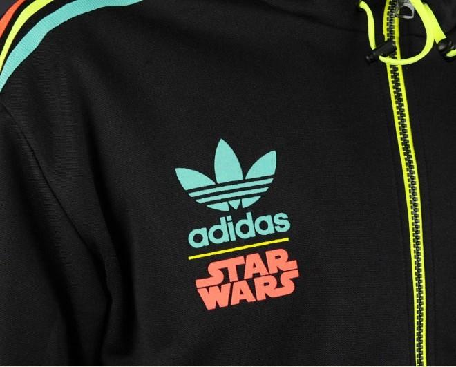 77b137e481e1 New Adidas Original StarWars Iconic Music Jacket StarWars RASTA BOBA FETT  V32822