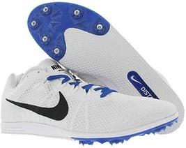 Nike New Mens Zoom Rival D 9 Track Shoes White/Black/Racer Blue - $35.00