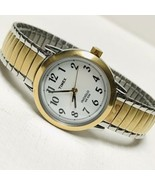 Timex Indiglo Easy Reader T2H491 Women's Watch Brass Expansion Band WORKS 3 - $22.77