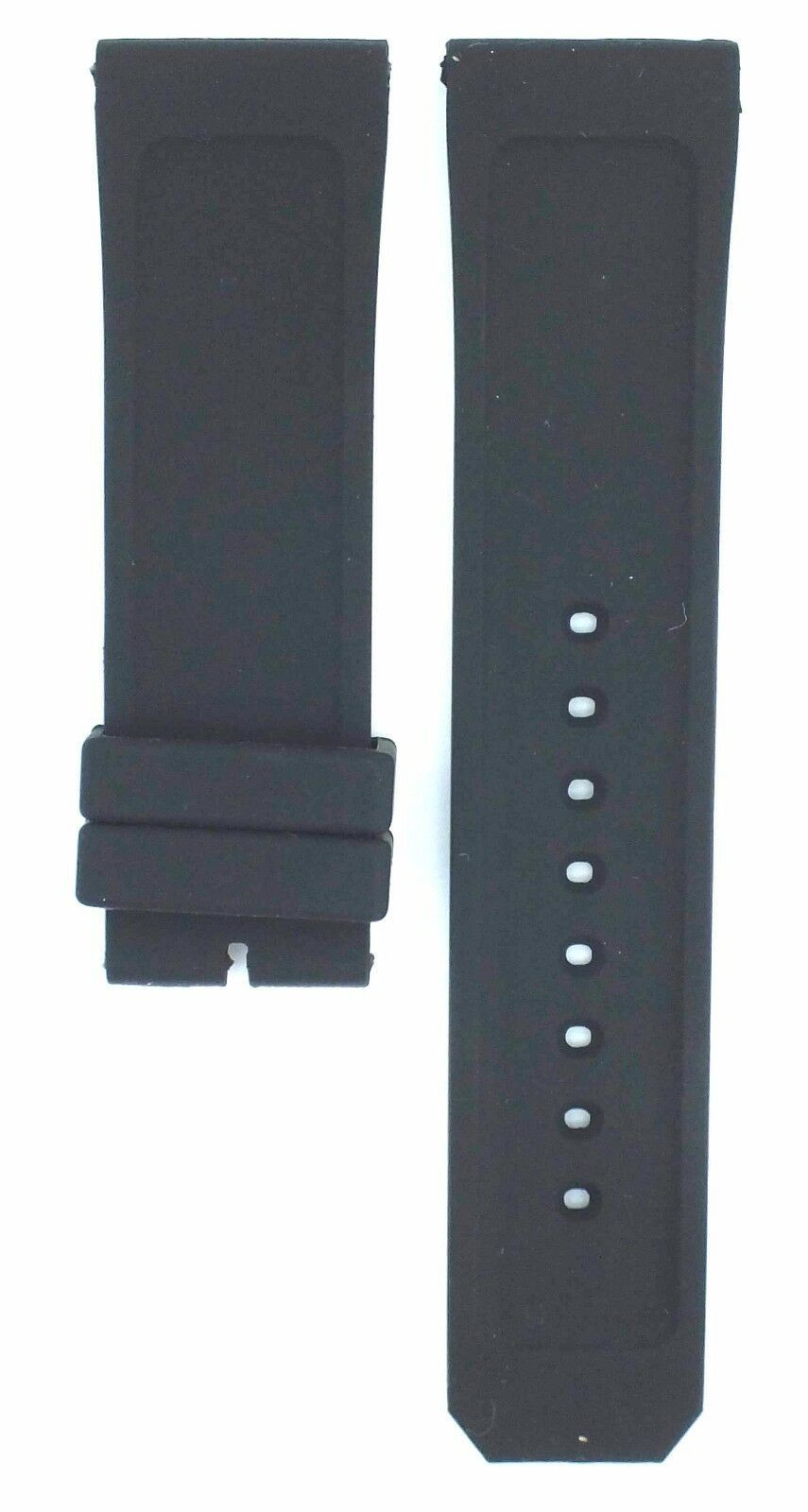 Compatible Burberry Sport BU7705 23mm Black Diver Rubber Watch Strap BRR103