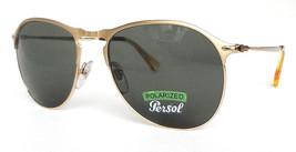 41cdd5de533b5 Persol Men  39 s Sunglasses Polarized PO7649S Metal Gold 56-18-145