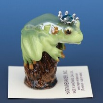 Birthstone Tree Frog Prince May Emerald Miniatures by Hagen-Renaker image 2