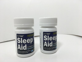 HEALTH A2Z SLEEP AID For Nighttime Use 60 Caplets Safe Non Habit Forming... - $11.76